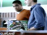 Still image from Heineken Beer - The Poachers [It's All About the Beer]