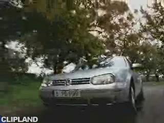 """VW Golf """"Extras Serienmäßig"""" (2002)"""