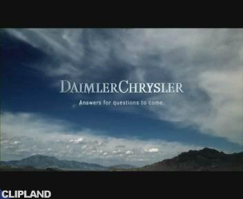 "DaimlerChrysler ""Infinite Possibilities"" (2001)"