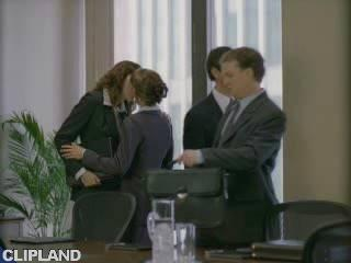 Still image from ScienceWorld - Boardroom (Shaking Hands Spreads More Germs Than Kissing) (We Can Explain)