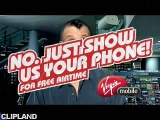 Still image from Virgin Group Virgin Mobile - Deep Throat