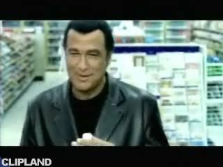 Still image from Mountain Dew - Shoplifting/Steven Segal (Do The Dew)