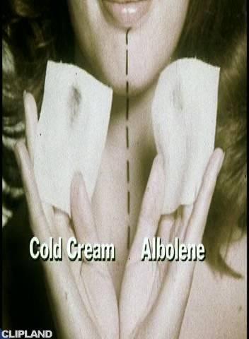 Albolene Skin Cream - Split Face