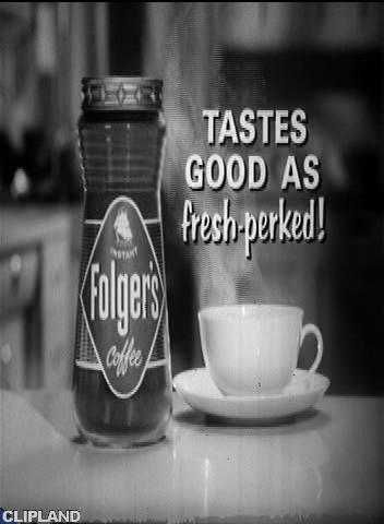 Folger Folger's Coffee - Harvey's Birthday (Tastes Good As Fresh-Perked.)