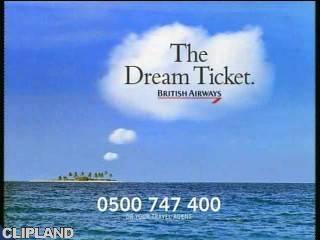 Still image from British Airways The Dream Ticket - Dream Island