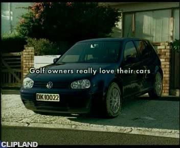 Still image from Volkswagen/VW - Dress (Golf Owners Really Love Their Cars.)