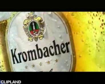 Still image from Krombacher Kwombacher Pils - Belfast Child (version 1: cinema version) (Krombacher. Eine Perle Der Natur.)
