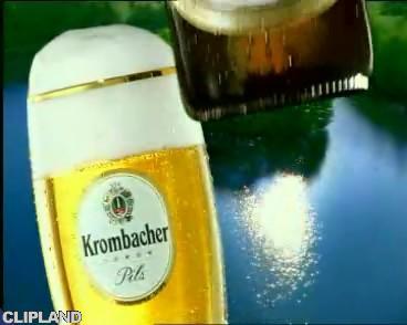 Still image from Krombacher Kwombacher Pils - Belfast Child (version 2: TV version) (Krombacher. Eine Perle Der Natur.)