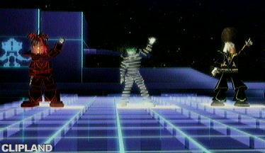 Still image from Scott Grooves feat. Parliament/ Funkadelics (Daft Punk Remix) - Mothership Reconnection