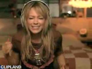 hilary duff quotwake upquot 2005 music video music video